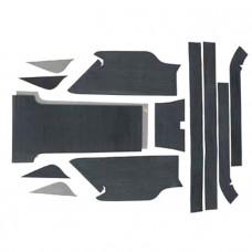 012-222BLK Нескользящий коврик для Yamaha Super Jet