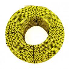 Шнур яхтенный ЭКСТРИМ  8мм желто-черный