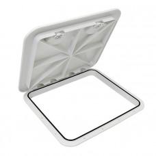 Крышка рундука SEAFLO 460x510мм, белый пластик