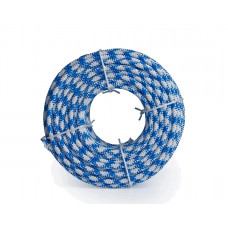 Шнур яхтенный ЭКСТРИМ  8мм бело-синий