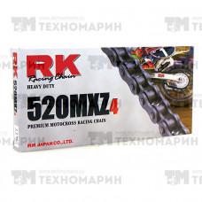 Цепь для мотоцикла до 500 см³ (без сальников) 520MXZ4-114