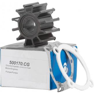 500170CG Крыльчатка помпы охлаждения двигателя  Johnson/Volvo-Penta