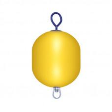 Буй причальный 520х280 мм желтый (Уц)