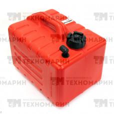 """Бак усиленный для лодочных моторов """"Экстрим"""" 12л с фитингом LB-0012-F"""