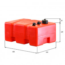 Канистра для топлива ELFO 32л дополнительная