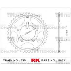 Звезда для мотоцикла ведомая B6831-45