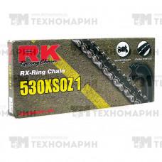 Цепь для мотоцикла до 1000 см³ (с сальниками RX-RING) 530XSOZ1-114