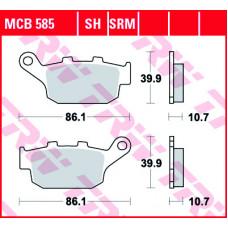 Колодки тормозные (серия Organic Allround) MCB585