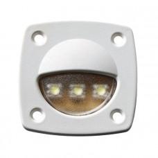 Светильник для подсветки палуб и трапов светодиодный 57х57мм